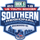 2018 Southern Regional Championships Logo