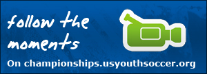 Follow the moments on championships.usyouthsoccer.org