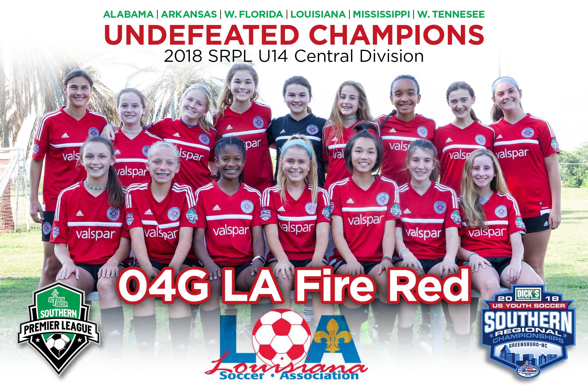 LA Fire Jrs Red