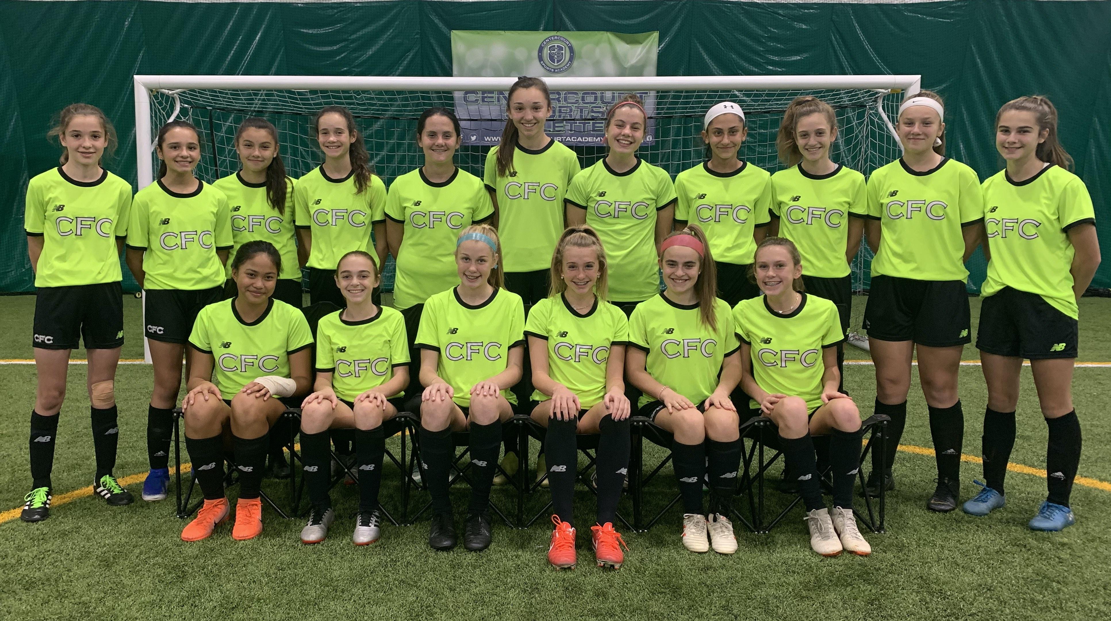 Centercourt FC 06 Green