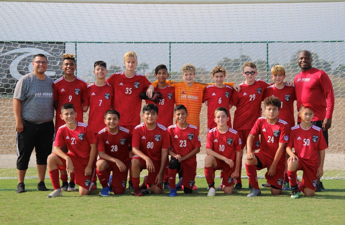 LVSA 06 Boys Red