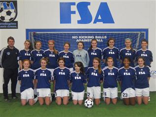 FSA United WHP U16 Girls