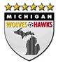 Michigan Hawks Black