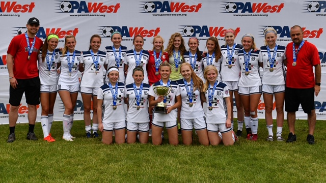 Beadling 2003 Girls - South Red