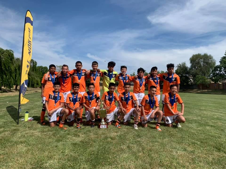 Newark Elite Soccer 06B Orange